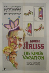 The King's Vacation poster