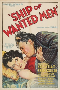 Ship of Wanted Men poster