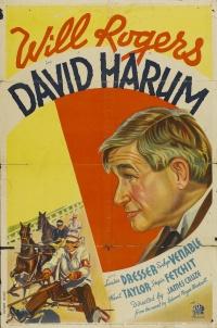 David Harum poster