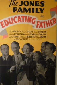 Educating Father poster