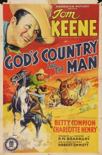 God's Country and the Man poster