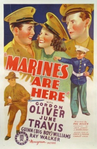 The Marines Are Here poster