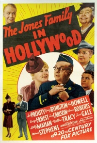 The Jones Family in Hollywood poster