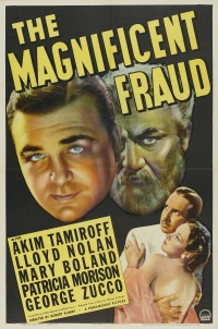The Magnificent Fraud poster