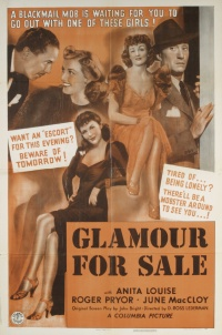 Glamour for Sale poster