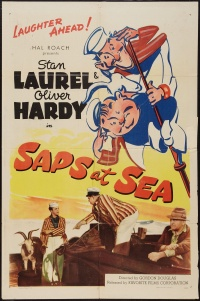 Saps at Sea poster