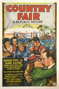 Country Fair poster