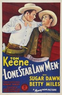 Lone Star Law Men poster