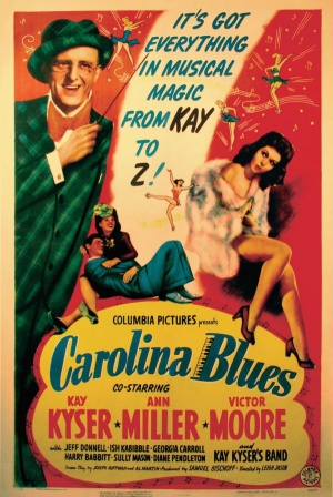 Carolina Blues Poster