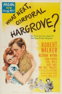 What Next, Corporal Hargrove? poster