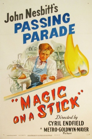 Magic on a Stick Poster