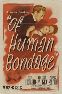 Of Human Bondage poster