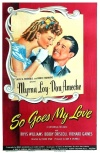 So Goes My Love Poster