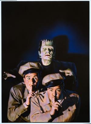 Bud Abbott Lou Costello Meet Frankenstein 2548x3467