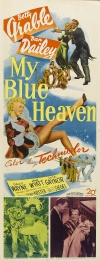 My Blue Heaven Poster