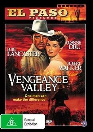 Vengeance Valley Dvd cover