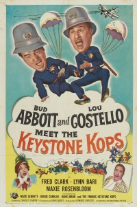 Abbott and Costello Meet the Keystone Kops poster