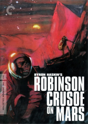 Robinson Crusoe on Mars Dvd cover