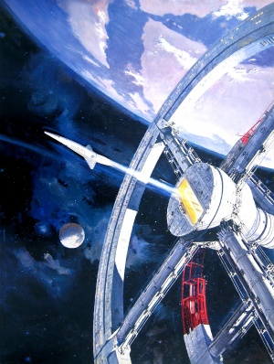 2001: A Space Odyssey Key art