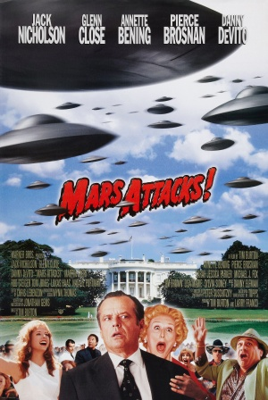 Mars Attacks! Advance poster