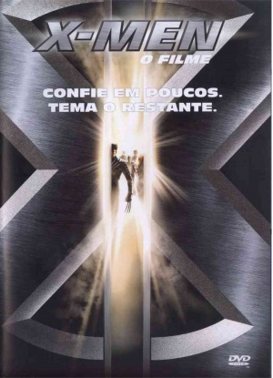 X-Men Dvd cover