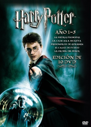 Harry Potter and the Prisoner of Azkaban Dvd cover