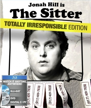 The Sitter Blu-ray cover