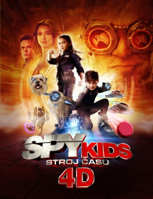 Spy Kids 4: All the Time in the World 3837x5000