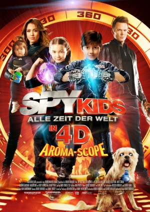Spy Kids 4: All the Time in the World 3508x4961