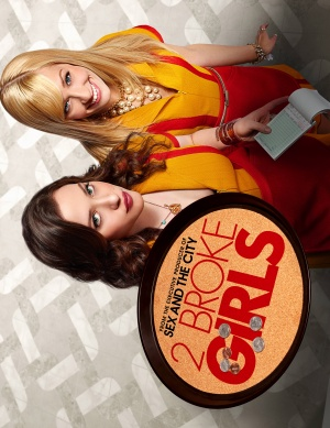 2 Broke Girls 3854x5000