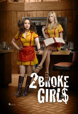 2 Broke Girls 3444x5000
