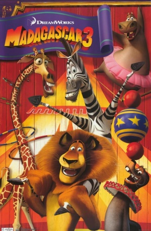 Madagascar 3: Europe's Most Wanted 500x763