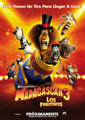 Madagascar 3: Europe's Most Wanted 884x1243