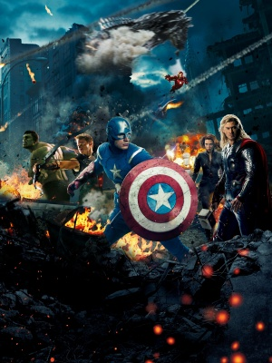 The Avengers Key art