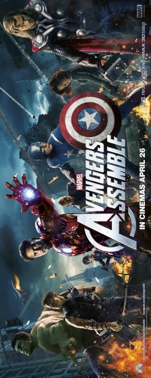 The Avengers 400x1000