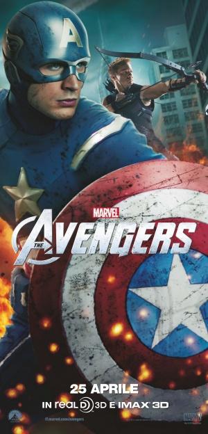 The Avengers 2402x5000