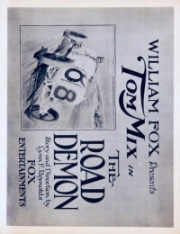 The Road Demon poster