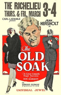 The Old Soak poster