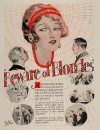 Beware of Blondes Poster