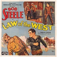 Law of the West poster