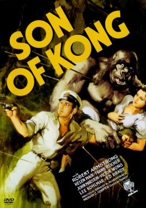 The Son of Kong Dvd cover