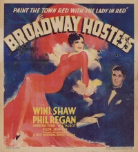 Broadway Hostess poster
