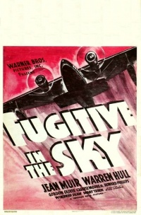 Fugitive in the Sky poster