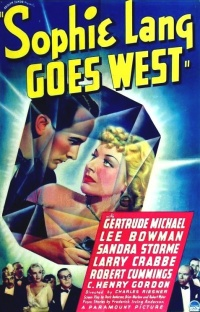 Sophie Lang Goes West poster