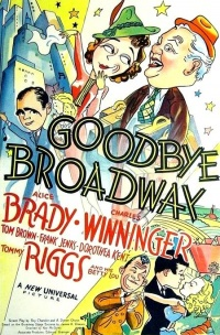 Goodbye Broadway poster