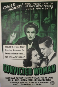 Convicted Woman poster