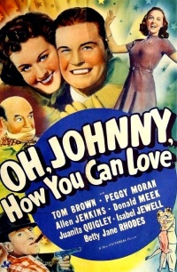 Oh, Johnny, How You Can Love! poster