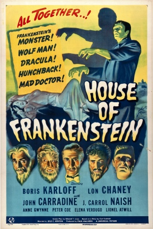 House of Frankenstein Poster