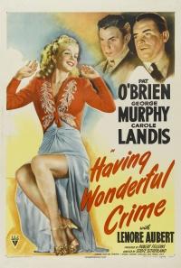 Having Wonderful Crime poster