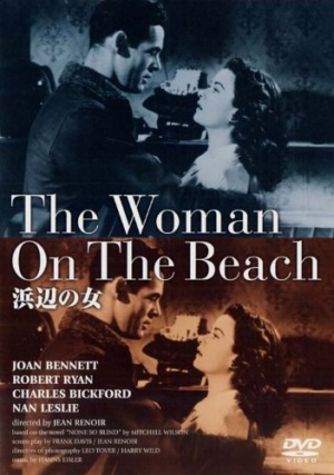 The Woman on the Beach Dvd cover